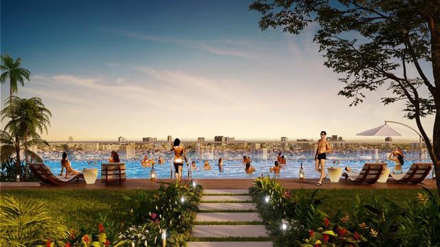 Sắp có tổ hợp hồ bơi điện phân đồng tốt cho sức khoẻ tại trung tâm Chợ Lớn - Ảnh 2.
