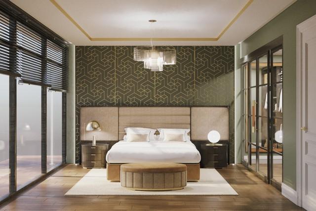 Thiết kế phòng ngủ Italia điểm nhấn của Vinmus tại Vietbuild 2019 - Ảnh 1.