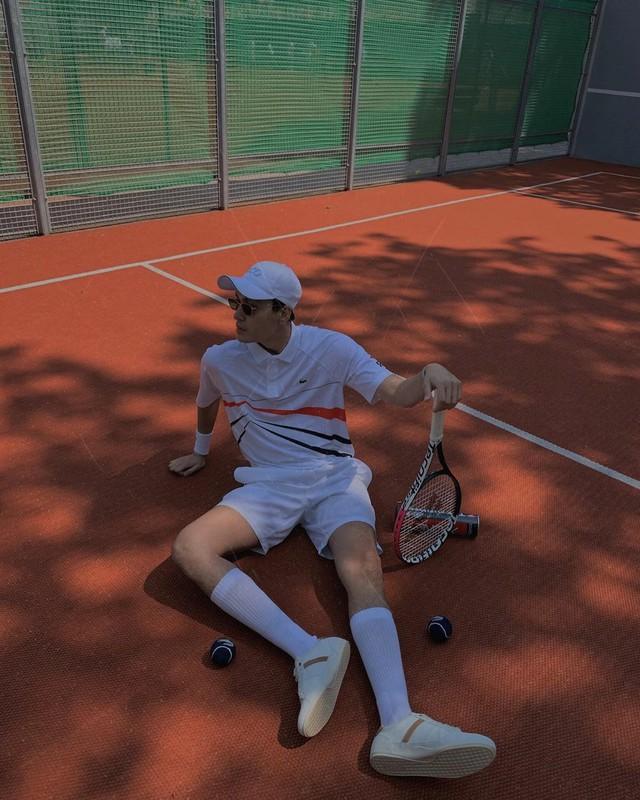 Trần Quang Đại đậm chất phóng khoáng tại Roland Garros - Ảnh 1.