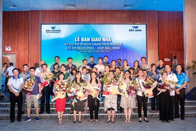 Bàn giao Khu đô thị BelHomes: Thêm lựa chọn nhà ở cho cư dân Bắc Ninh - Ảnh 2.