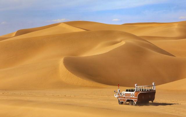 Nội Mông, những nốt nhạc huyền bí của gió và cát - Ảnh 3.