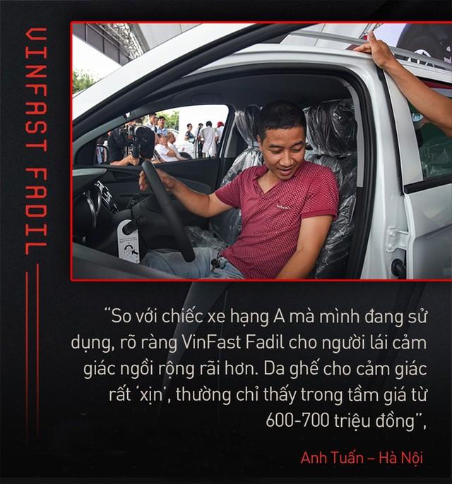 Khách Việt hết lời khen VinFast Fadil trong ngày nhận xe quy mô kỷ lục Việt Nam - Ảnh 1.