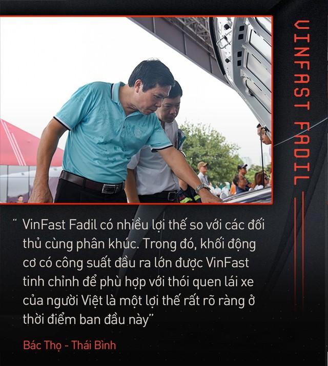 Khách Việt hết lời khen VinFast Fadil trong ngày nhận xe quy mô kỷ lục Việt Nam - Ảnh 2.