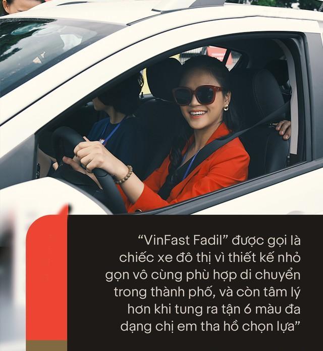 VinFast Fadil đốn tim sao Việt ở những điểm này ngay trong lần trải nghiệm đầu tiên - Ảnh 4.