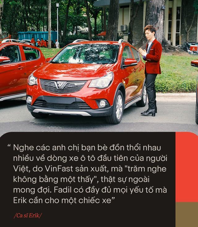 VinFast Fadil đốn tim sao Việt ở những điểm này ngay trong lần trải nghiệm đầu tiên - Ảnh 5.