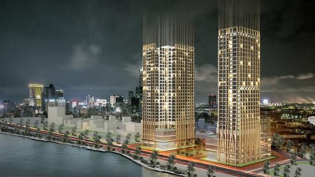 AccorHotels tấn công thị trường Đà Nẵng với khách sạn kính phủ vàng 24k bên bờ sông Hàn - Ảnh 1.