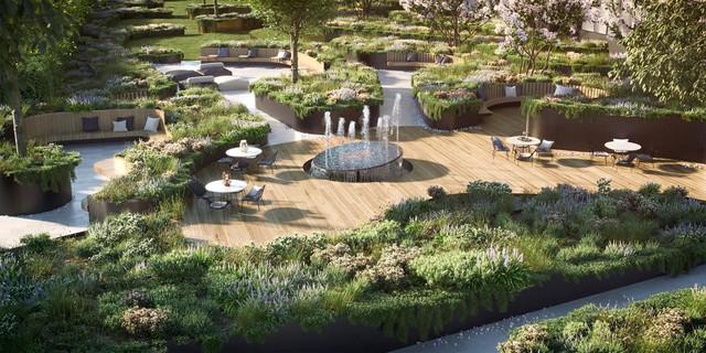 Cận cảnh dự án có TTTM Vincom Plaza trong khuôn viên tại Bình Dương - Ảnh 8.