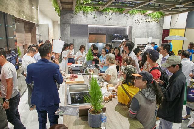Malloca khẳng định vị thế công nghệ trong ngành thiết bị nhà bếp tại Việt Nam - Ảnh 2.