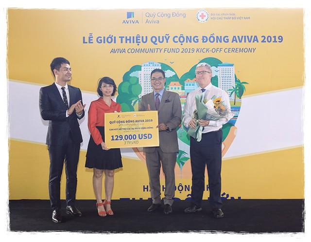 """CEO Aviva Việt Nam: """"Đóng góp cho cộng đồng là trách nhiệm của doanh nghiệp"""" - Ảnh 2."""
