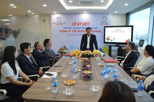 Thiên Nam và Nahaviwel hợp tác khai thác thị trường vật liệu hàn - Ảnh 1.