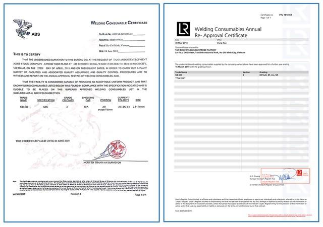 Thiên Nam và Nahaviwel hợp tác khai thác thị trường vật liệu hàn - Ảnh 2.