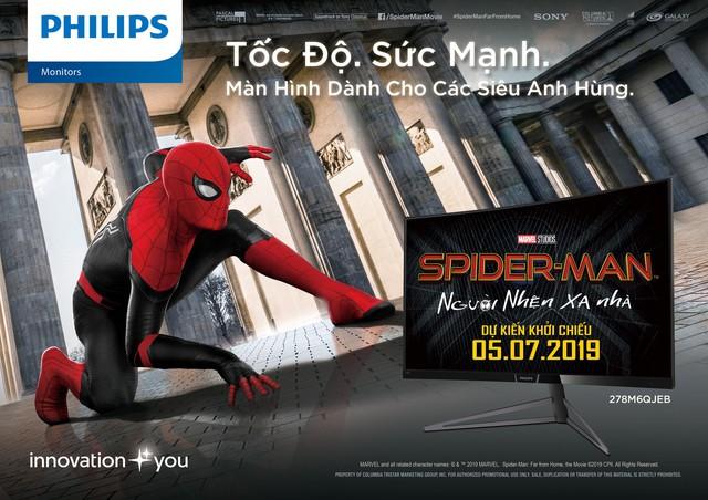 Màn hình Philips đồng hành cùng phim Spider-Man tại Việt Nam - Ảnh 1.