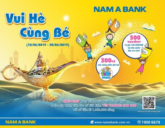 Nhận quà kép khi gửi tiết kiệm yêu thương cho con tại Nam A Bank - Ảnh 1.