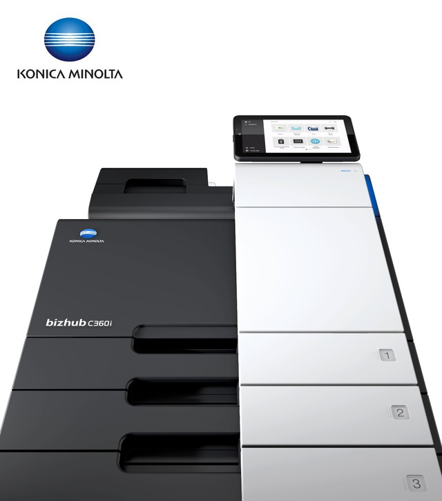In ấn văn phòng trở nên đơn giản, nhanh chóng và bảo mật với bizhub C360i series của Konica Minolta - Ảnh 1.