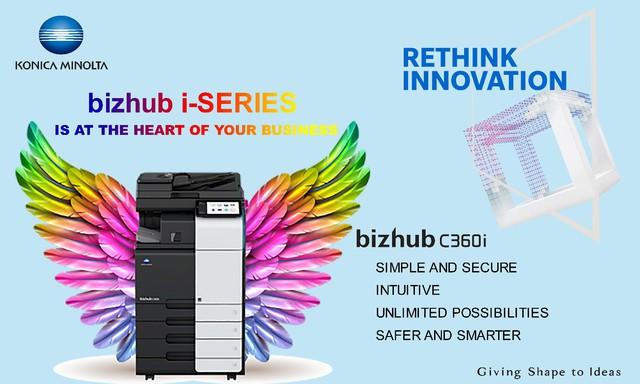 In ấn văn phòng trở nên đơn giản, nhanh chóng và bảo mật với bizhub C360i series của Konica Minolta - Ảnh 2.