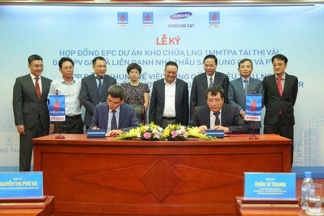 PV GAS ký kết các hợp đồng chuỗi dự án khí điện LNG Thị Vải – Nhơn Trạch - Ảnh 1.
