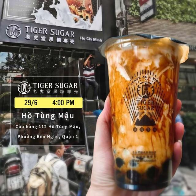 Trà sữa Tiger Sugar khai trương cửa hàng tại Việt Nam, tung nhiều ưu đãi cho khách hàng - Ảnh 2.