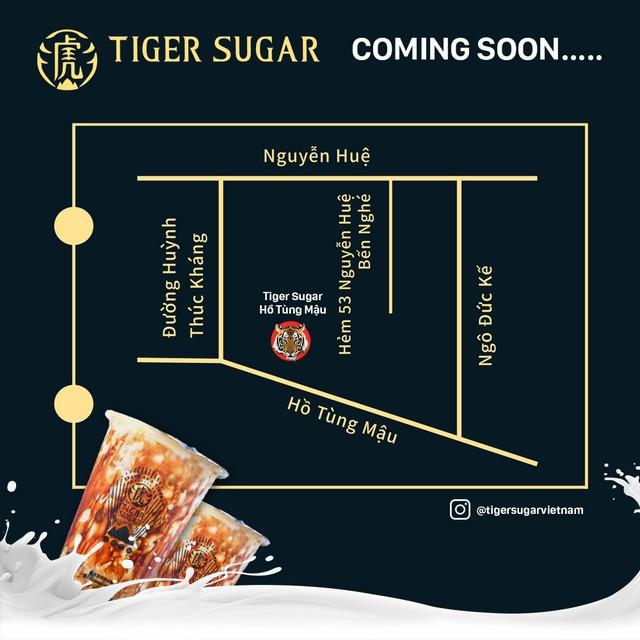 Trà sữa Tiger Sugar khai trương cửa hàng tại Việt Nam, tung nhiều ưu đãi cho khách hàng - Ảnh 3.