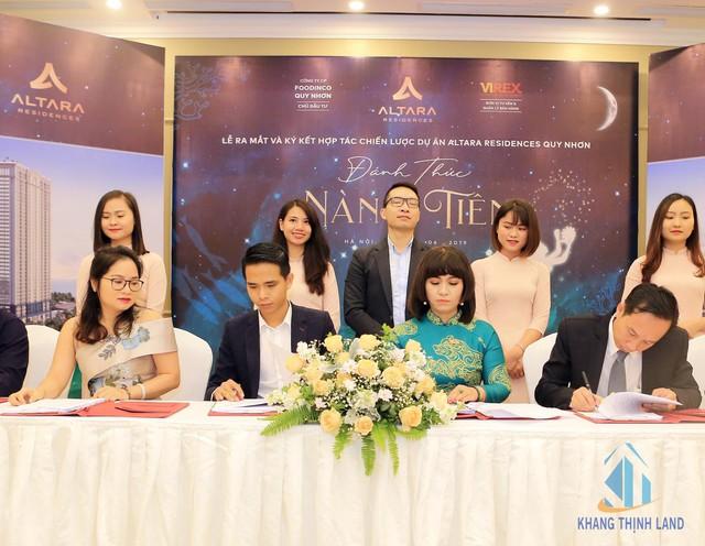 Khang Thịnh Land và VIREX ký kết hợp tác chiến lược dự án Altara Residences Quy Nhơn - Ảnh 1.
