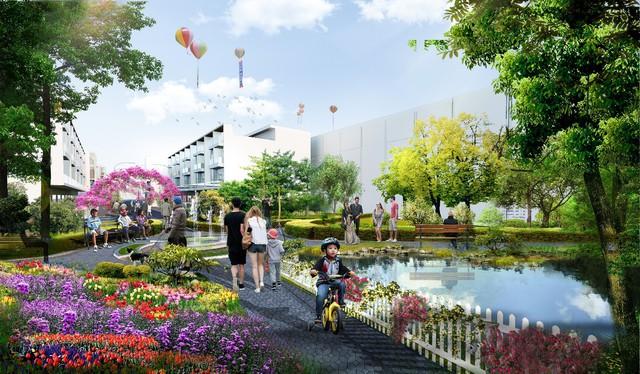 Sắp xuất hiện phố đi bộ 3D, với hàng trăm cửa hàng mua sắm, ẩm thực tại Phú Mỹ - Ảnh 4.
