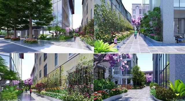 Bohemia Residence số 2 Lê Văn Thiêm: Vườn nhiệt đới trong lòng phố thị - Ảnh 1.