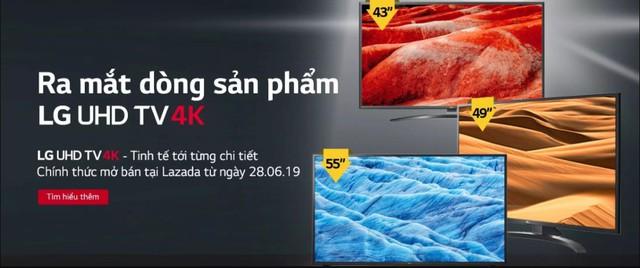 """LG giảm giá nhiều sản phẩm lên đến 45% trong lễ hội mua sắm """"Sale Kêu Hè Về"""" ngày 12/07 trên Lazada - Ảnh 5."""
