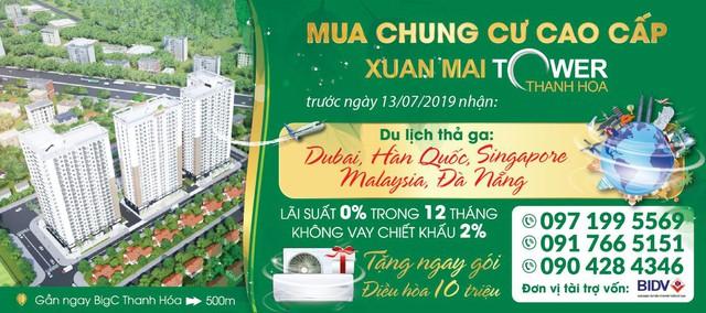 Du lịch thả ga cùng Xuân Mai Tower Thanh Hóa