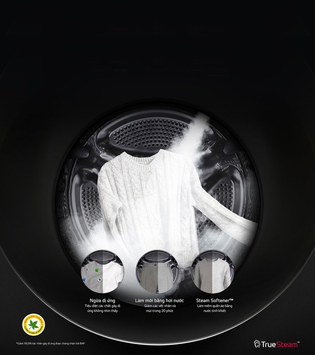 Tất tần tật về True Steam - công nghệ độc quyền được cả thế giới săn lùng của LG - Ảnh 2.