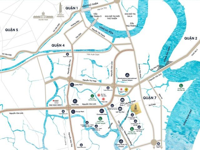 Hạ tầng đô thị Nam Sài Gòn phát triển đồng bộ, dự án nào hưởng lợi? - Ảnh 1.