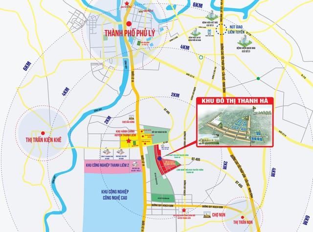 Dự án đất nền hàng đầu Hà Nam – Khu đô thị Thanh Hà toả sức hút mạnh mẽ - Ảnh 1.