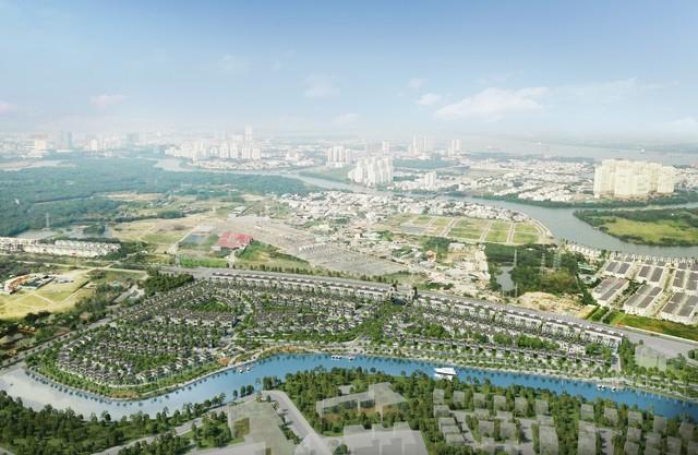Nhà Bè tương lai với khu đô thị thông minh của chủ đầu tư Hàn Quốc - Ảnh 1.