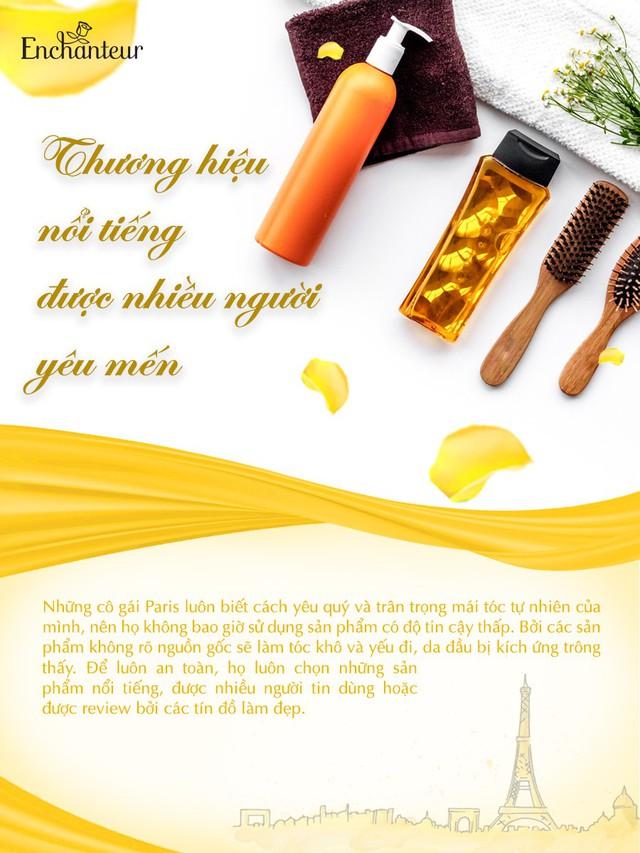 Học quý cô Paris 3 tips chọn bộ đôi dầu gội xả để tóc mượt thơm bất chấp nắng hè - ảnh 3