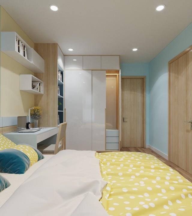 Căn hộ 3 phòng ngủ thiết kế đẹp mắt của doanh nhân Sài Gòn - Ảnh 9.