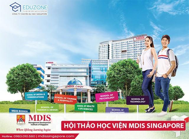 """Hội thảo """"Tìm hiểu và lựa chọn ngành học khi du học tại MDIS, Singapore"""" - Ảnh 2."""