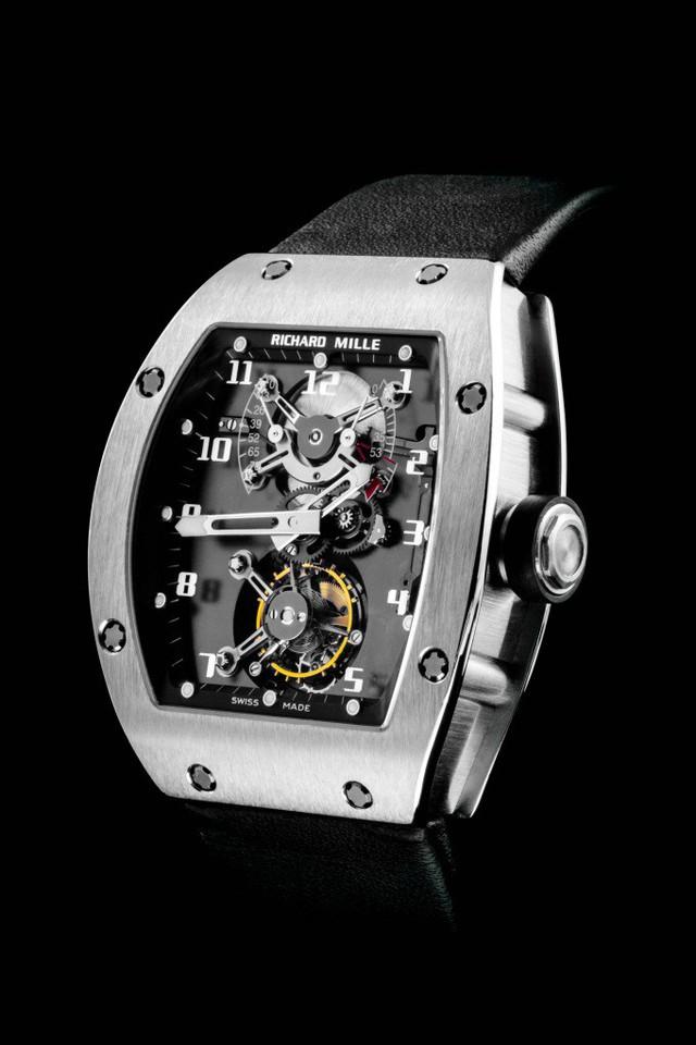 Richard Mille RM 001 Tourbillon – Chiếc đồng hồ thay đổi thế giới - Ảnh 1.