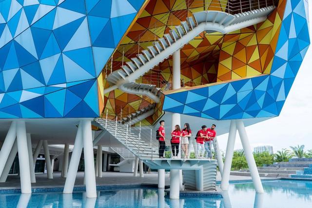 Cơ hội khám phá không gian học tập tràn đầy cảm hứng của ngôi trường triệu đô ngay tại Việt Nam - Ảnh 1.