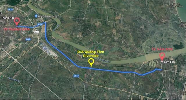 Thanh Hoá: Tại sao nên đầu tư đất đấu giá trục đại lộ hướng biển Nam sông Mã? - Ảnh 1.