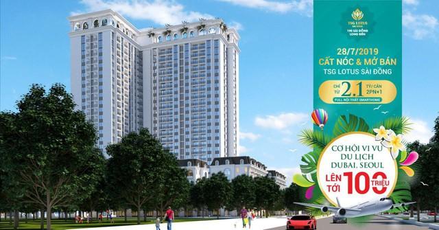 Mở bán & cất nóc TSG Lotus Sài Đồng: Tậu nhà sang – trúng quà lên tới 100 triệu - Ảnh 2.