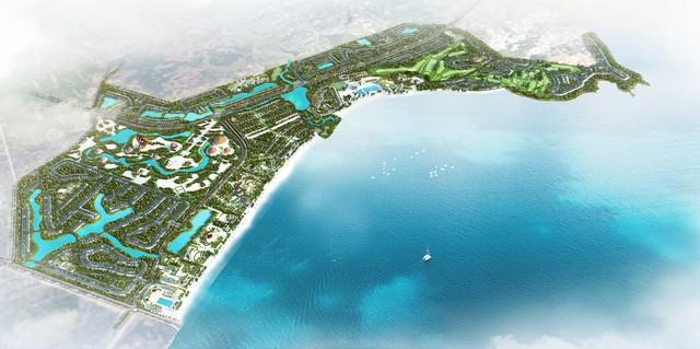 Quần thể du lịch nghỉ dưỡng sinh thái FLC Quảng Ngãi.