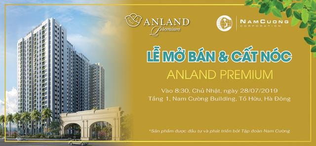 Tập đoàn Nam Cường tổ chức Lễ mở bán & cất nóc dự án Anland Premium - Ảnh 2.