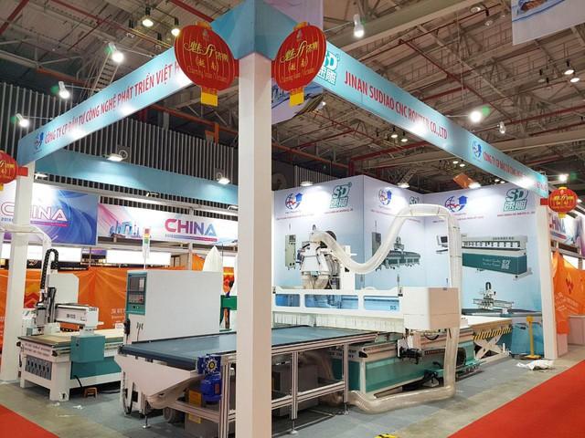 Máy chế biến gỗ nhập khẩu Trung Quốc - Đài Loan – lựa chọn cho doanh nghiệp nội thất Việt - Ảnh 3.