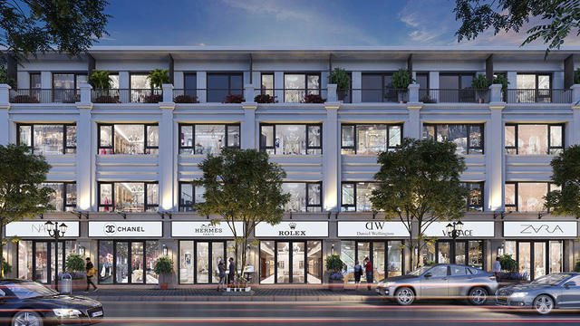 Shophouse Apec Diamond Park hấp dẫn giới nhà giàu Lạng Sơn - Ảnh 1.