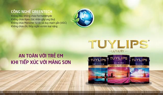 Ra mắt dòng sơn cao cấp Tuylips Luxury – Khác biệt để dẫn đầu - Ảnh 2.