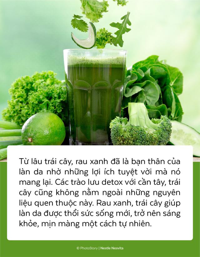 Da sạm, khô và có nếp nhăn: Đừng chỉ dùng mỹ phẩm, hãy bắt đầu thay đổi từ chế độ ăn uống! - Ảnh 3.