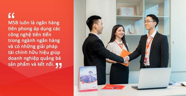 Thấu hiểu khách hàng chính là lợi thế cạnh tranh của MSB - Ảnh 3.
