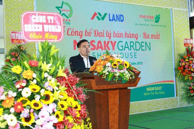 Lễ công bố đại lý bán hàng và ra mắt Nasaky Garden Shophouse - Ảnh 1.