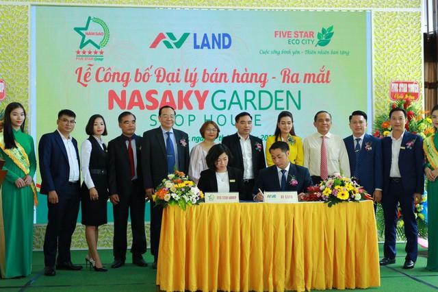 Lễ công bố đại lý bán hàng và ra mắt Nasaky Garden Shophouse - Ảnh 2.