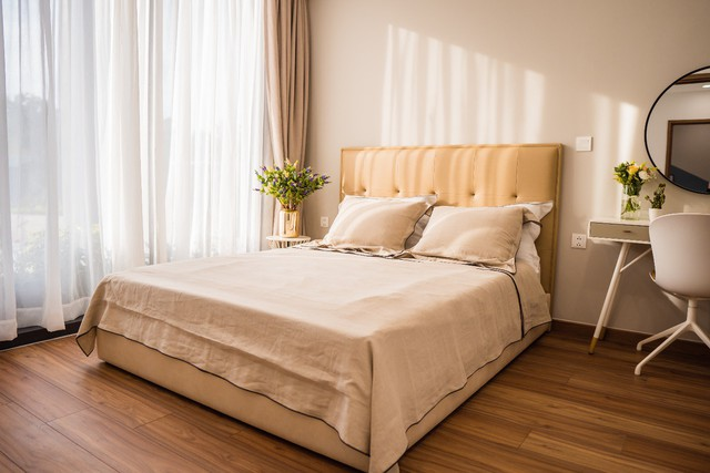 Ấn tượng với căn hộ mẫu dự án Eco Green Saigon - Ảnh 1.