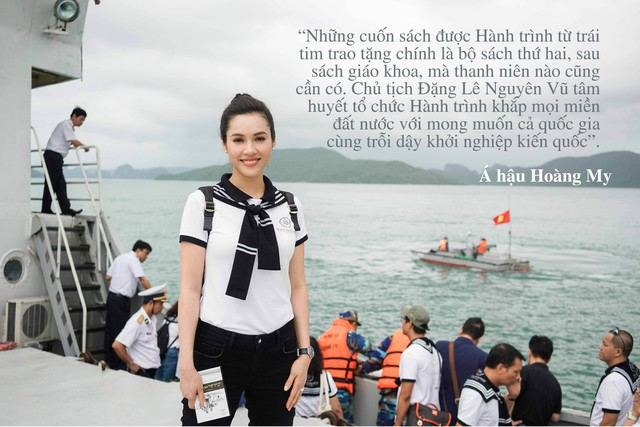 """Những câu nói truyền cảm hứng của của sao Việt trong """"Hành trình từ trái tim"""" vùng biển đảo - Ảnh 2."""