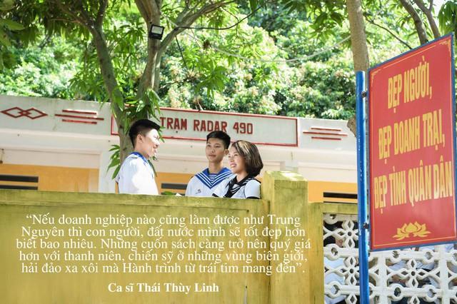 """Những câu nói truyền cảm hứng của của sao Việt trong """"Hành trình từ trái tim"""" vùng biển đảo - Ảnh 4."""